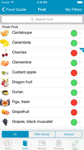 low fodmap diet monash app